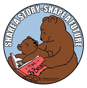 Share a Story Shape a Future blog tour for literacy