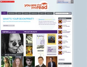 Scholastic book networking site