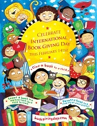 international-book-giving-day-poster for children's literacy