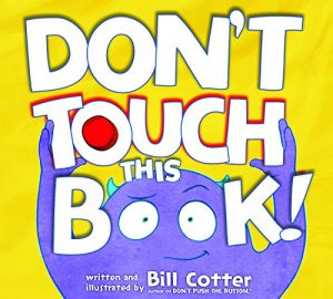 dont touch this book bill cotter